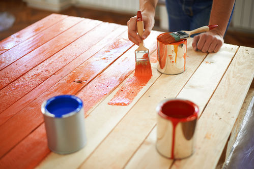 peinture pour bois interieur ooreka