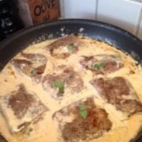 Saltimbocca med tagliatelle