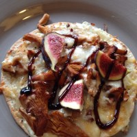 Pizza Bianco med kantareller