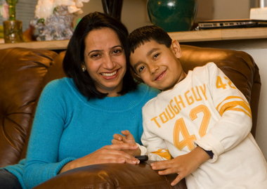 Rajdeep Kaur, 35, just completed her second round of savings for college through the Oregon Individual Development Account initiative. The program, financed largely by a state tax credit, coaches lower-income participants on saving for a home, business or education over six months to three years. Kaur, who raises her 6-year-old son, Mandeep Randhawa, in a Northeast Portland apartment, uses the $1,740 she saved and the $5,220 match to help her get a nursing degree.