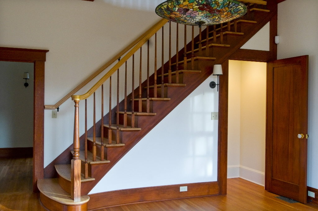 Taking A Giant Step Sometimes Moving The Staircase Is The Right | Split Level Entry Stairs | Raised Ranch | Tri Level | Modern | Knee Wall | Entrance