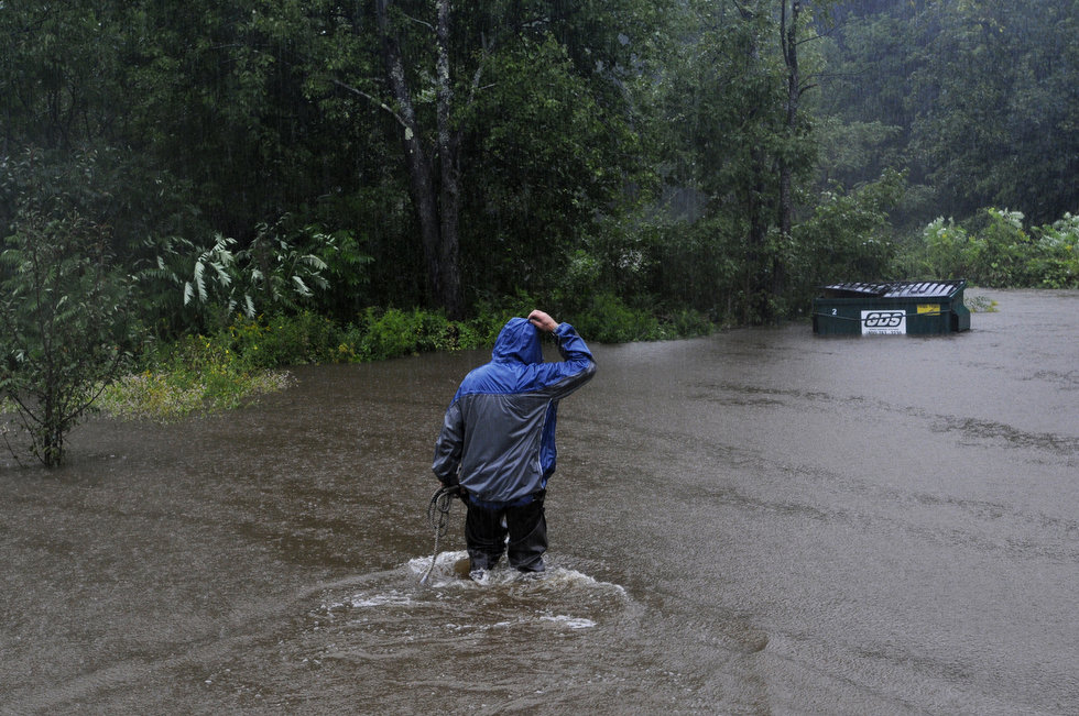 Tropical Storm Irene's havoc on hikers in Vermont mountains