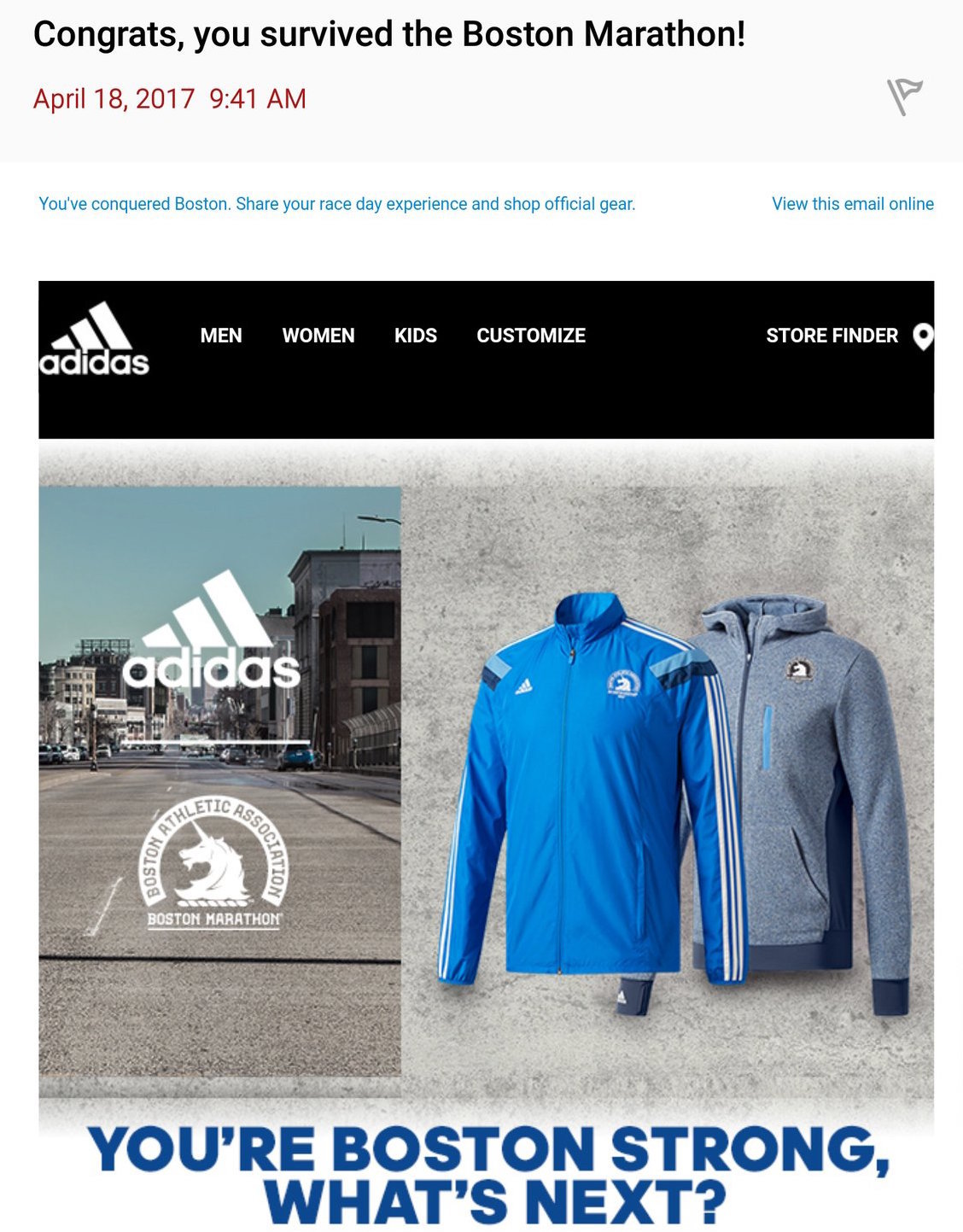 Image result for adidas boston marathon