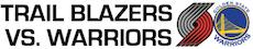 Trail Blazers vs. Warriors