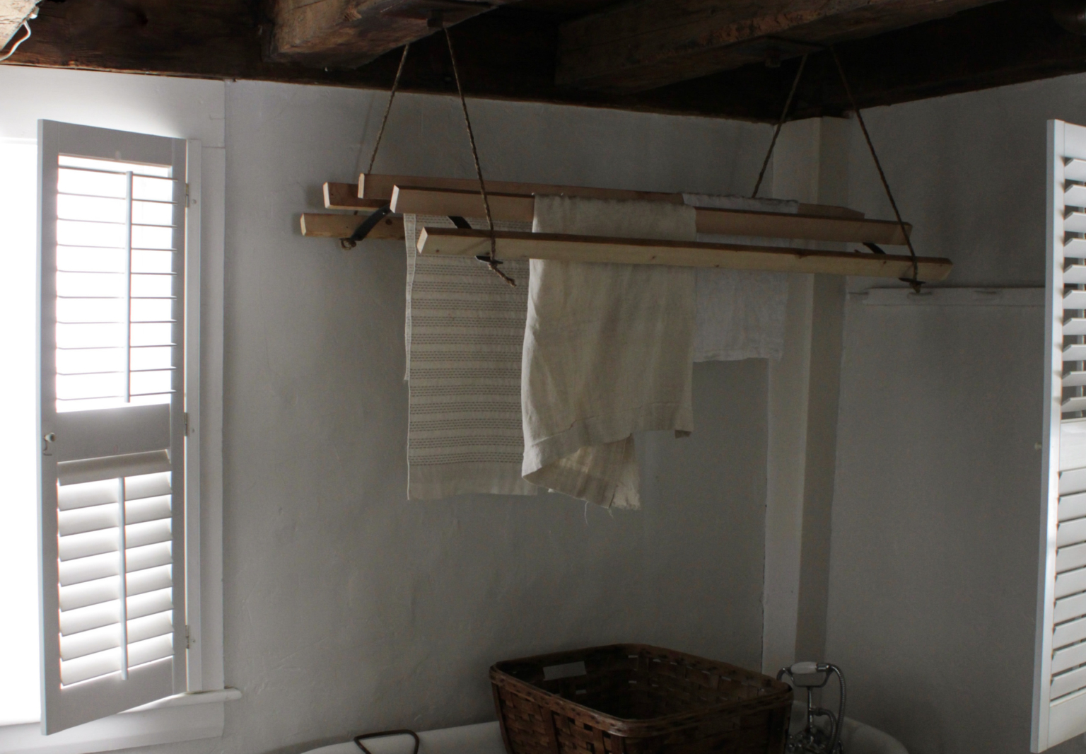 Diy An Old Fashioned Clothes Drying Rack The Organized Home