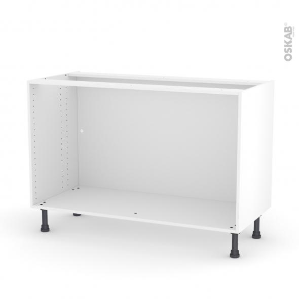 caisson bas n 10 meuble de cuisine l120 x h70 x p56 cm sokleo