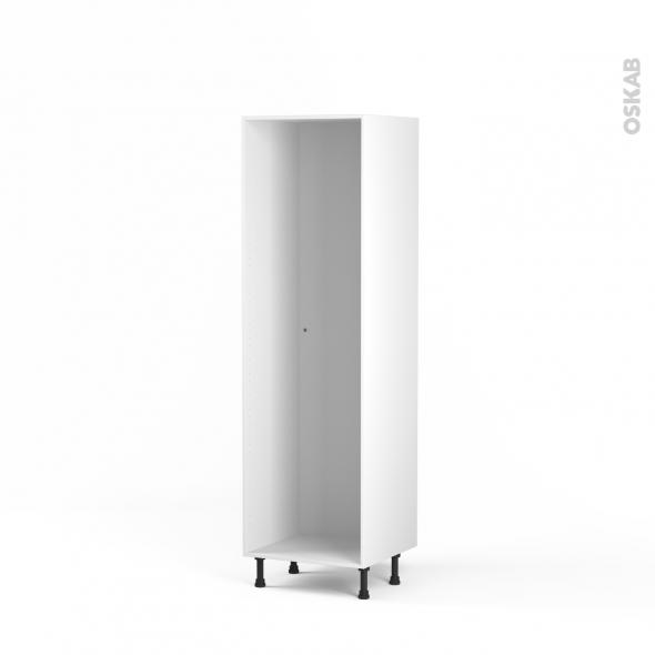 caisson colonne n 29 armoire de cuisine l60 x h195 x p56 cm sokleo
