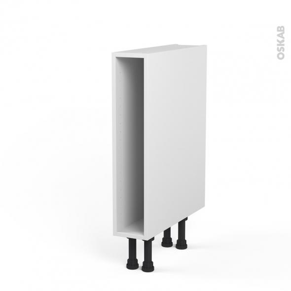 caisson bas n 3 meuble de cuisine l15 x h70 x p56 cm sokleo