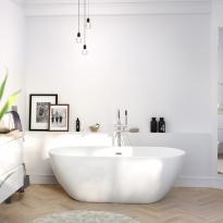 baignoire de salle de bains oskab