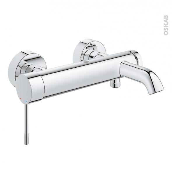 robinet baignoire essence mecanique chrome grohe