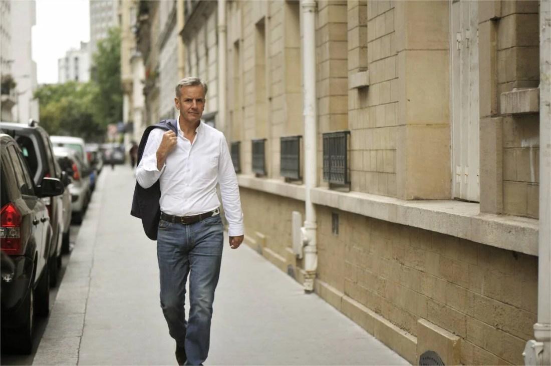 Bernard de La Villardière, présentateur d'Enquête exclusive sur M6.