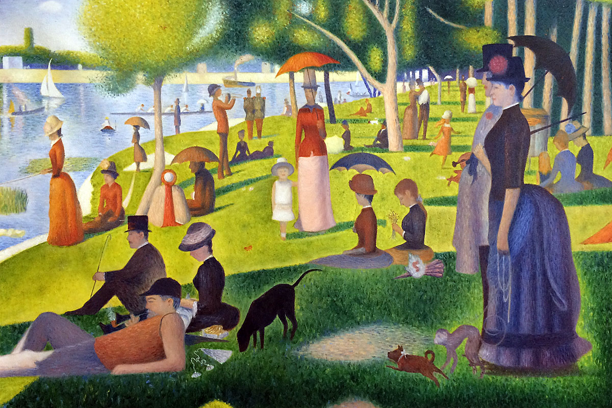 Georges Seurat Reproduction Paintings