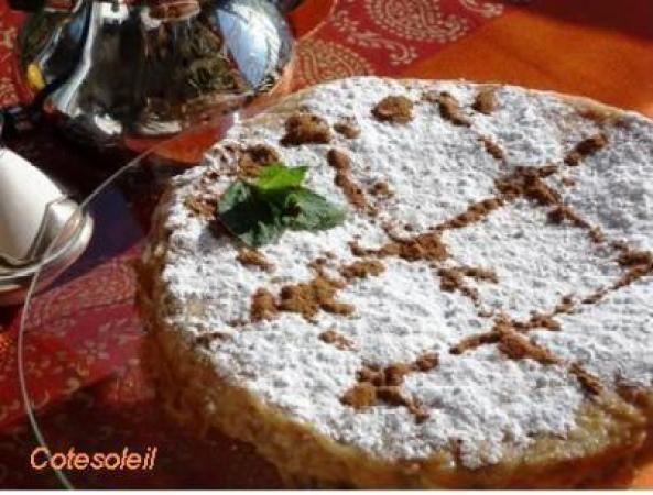 PASTILLA AU POULET (Maroc)