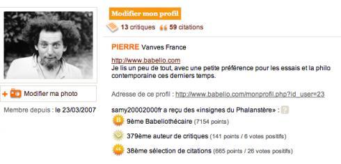 Où Babelio remercie ses 1620 plus grands contributeurs