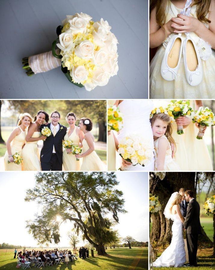 Vrai mariage jaune theme citron etbonbons