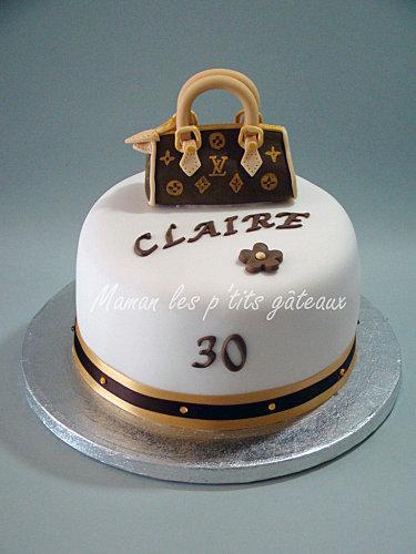 sac à main gâteau anniversaire