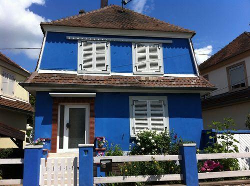 La Note O Je Rve Dune Maison Bleue Strasbourg Lire