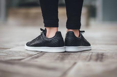 Adidas Stan Smith Noir Femme 7
