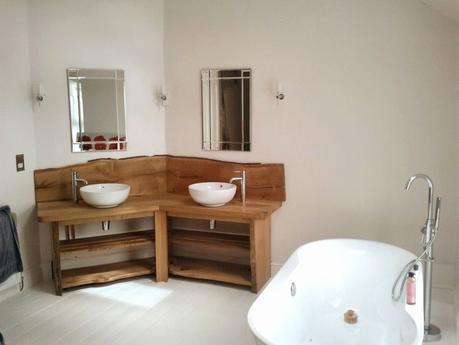 meuble en teck pour salle de bain