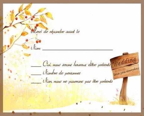 modele invitation pot de depart paperblog