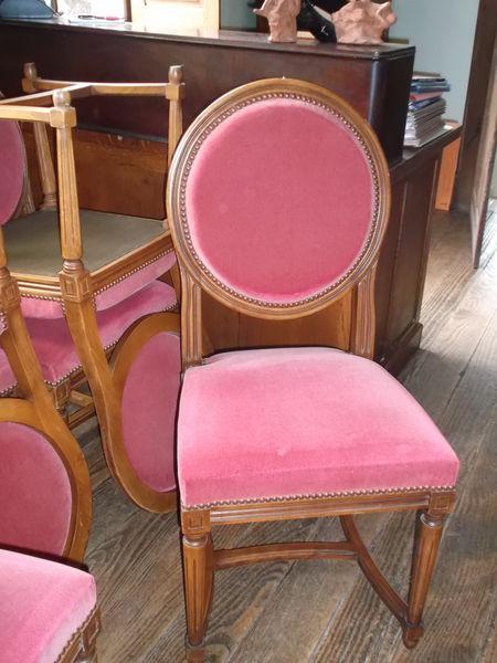 achetez chaises medaillon occasion