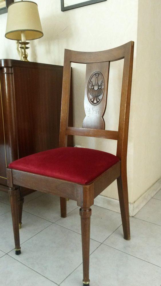 achetez lot de 6 chaises occasion