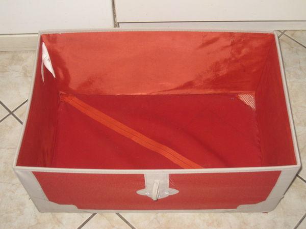 Coffre Ikea Rangement Tissu