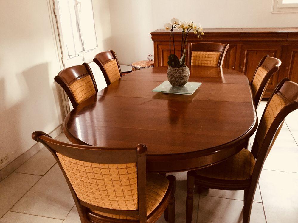 salle a manger merisier massif louis philippe a 1200