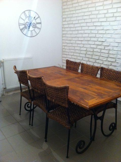Achetez Table En Bois Occasion Annonce Vente A Noyal Sur Vilaine 35 Wb155575067