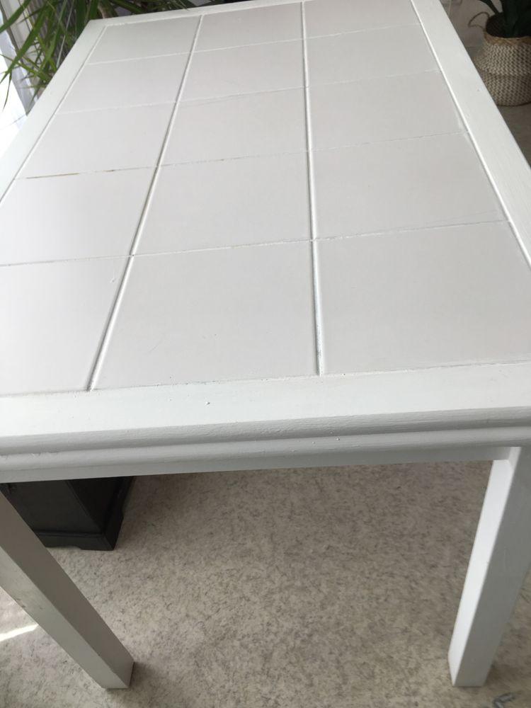 table de cuisine blanche largeur 71 longueur 112 a 25