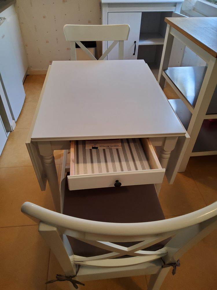 achetez table cuisine ikea quasi neuf