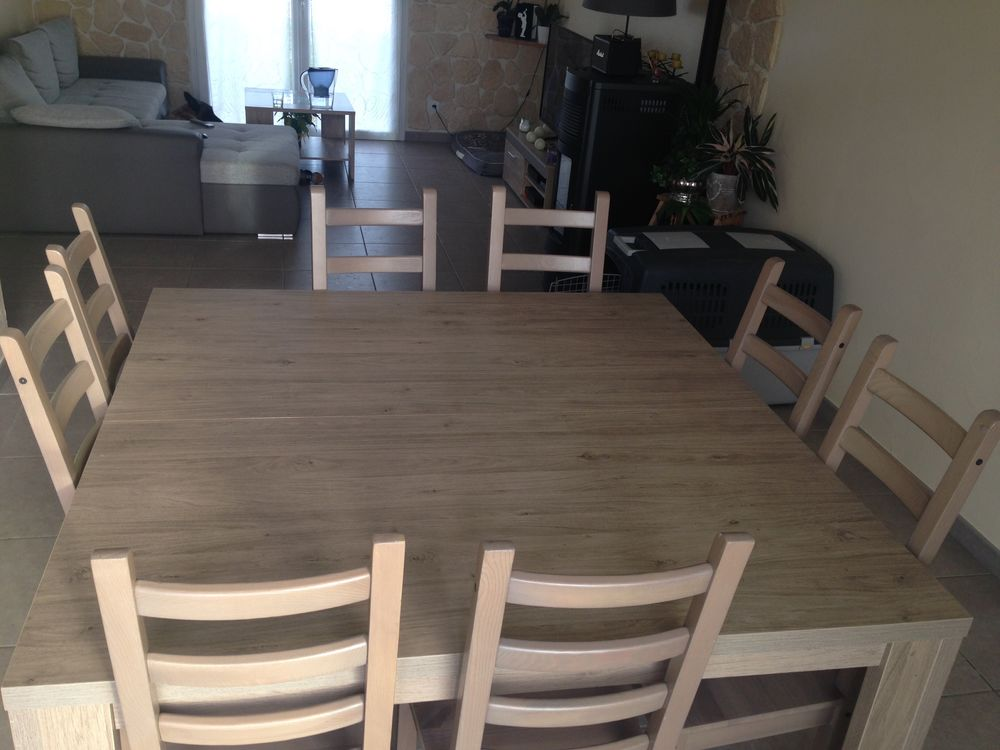 table a manger 8 personnes a 450