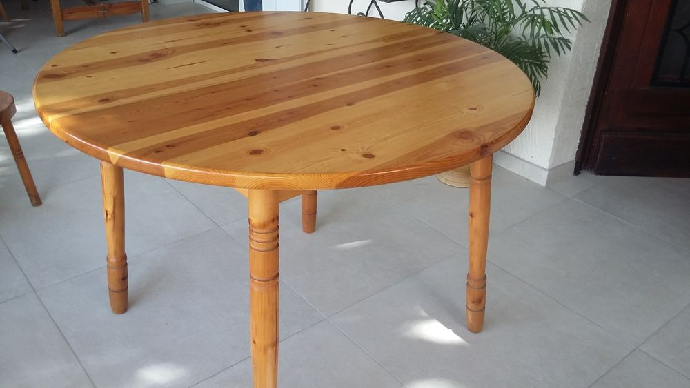 table ronde extensible a 80