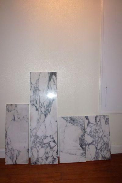 tablette de radiateur marbre
