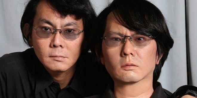 Ο Hiroshi Ishiguiro και το ρομπότ-αντίγραφο του εαυτού του