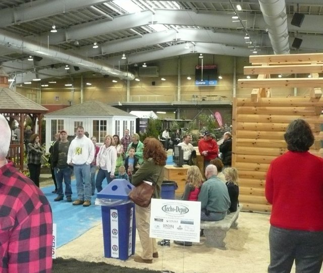 View Full Size Visitors Milling Through Pa Home Show 2012 George Weigel