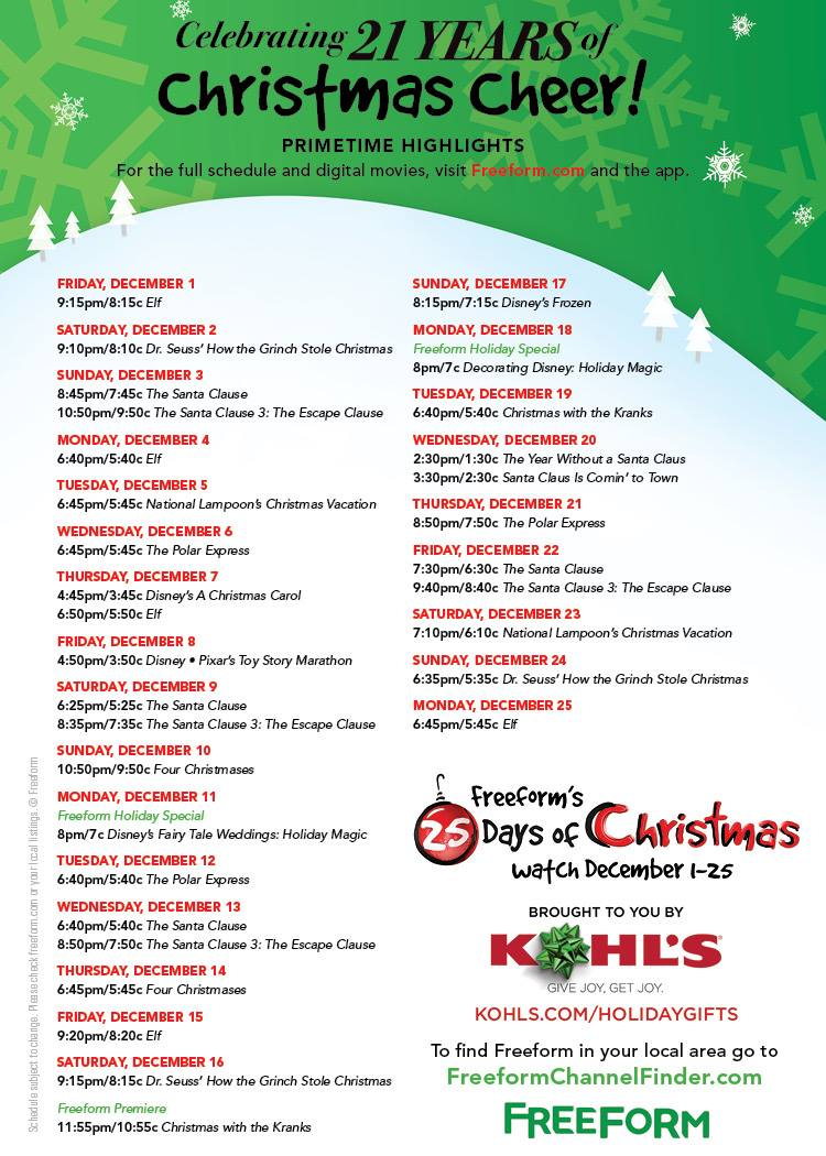 National Lampoon S Christmas Vacation Schedule 2017 | Myvacationplan.org