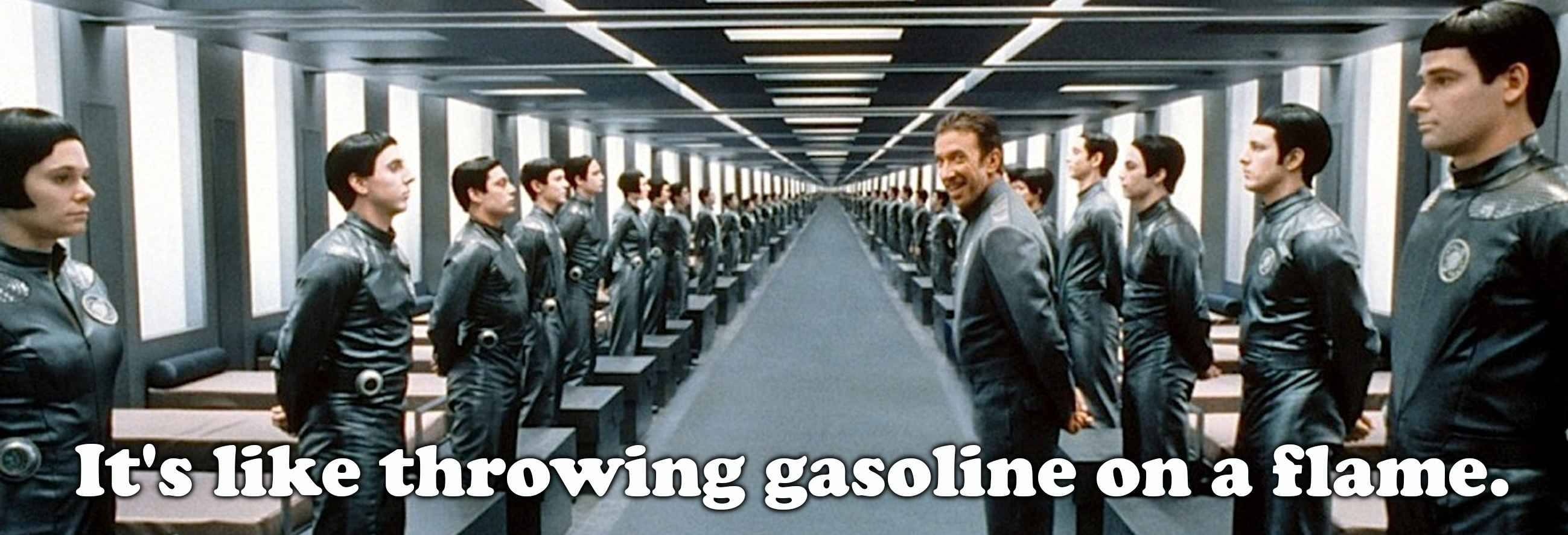 Image result for galaxy quest gasoline