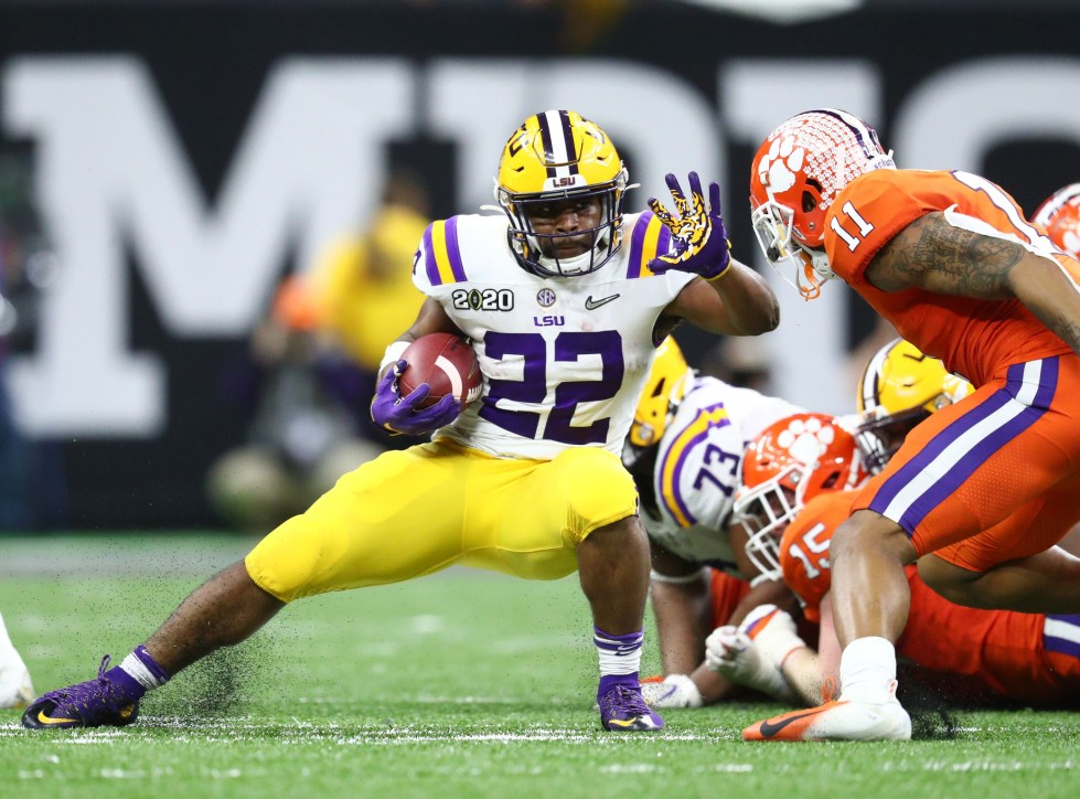 2020 NFL Draft: Clyde Edwards-Helaire projects as a good player ...