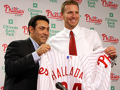Giving up Cliff Lee and trading for Roy Halladay were two big offseason moves made by the Phillies. (Steven M. Falk/Staff Photographer)