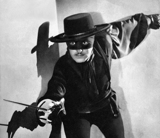 Image result for zorro douglas fairbanks