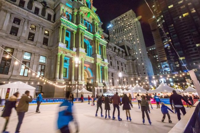Image result for ice skating philly