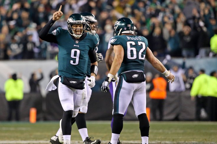 Image result for eagles beat vikings