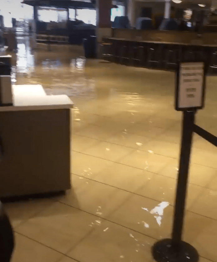 king of prussia mall floods after heavy