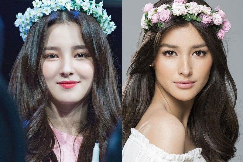K Ganda K Pop Star Nancy On Look Alike Liza Soberano