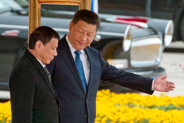 Image result for duterte and xi