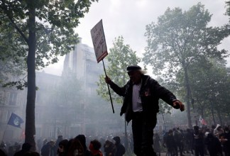 Image result for france may day 2017