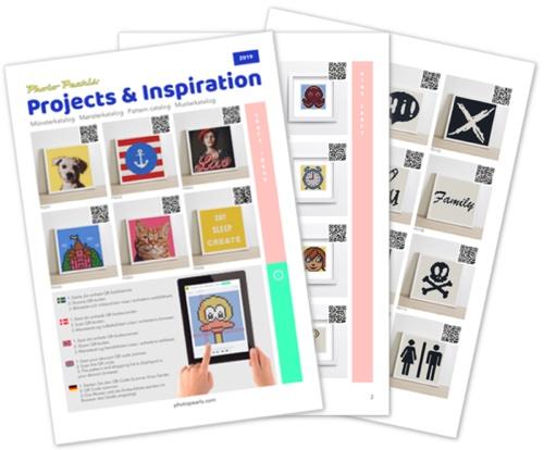 Pattern catalog as PDF file