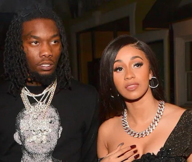 Offset And Cardi B Photo By Prince Williams Wireimage