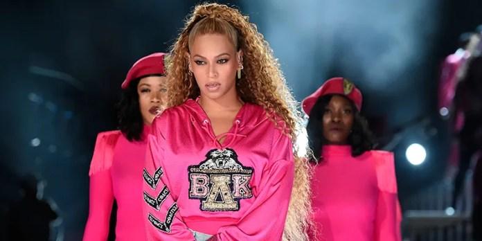 Beyoncé, April 2018 (Kevin Mazur/Getty Images for Coachella)